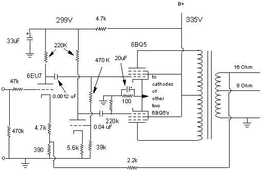 Magnavox Paraphase 15 wpc P-P Amplifier on
