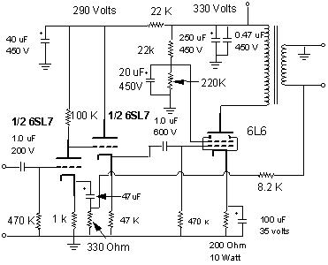 Diy Single Ended Tube   Schematics further 264584 Need Know Operating Voltage 6f6 Tube furthermore T besides Index php furthermore Setube. on tube amp 6l6 se schematic